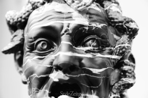 Barry X Ball - Envy in Italian Portoro Marble (detail)