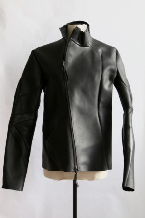 Leon Emanuel Blanck x StyleZeitgeist Leather Jacket - sz10-popup, clothing -
