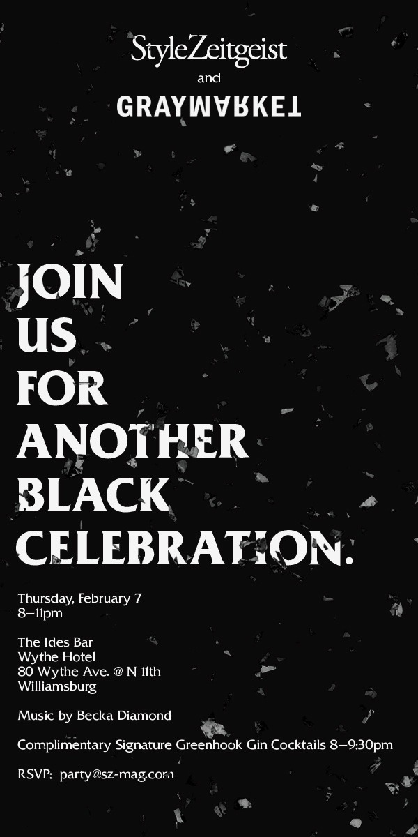 StyleZeitgeist Black Celebation - Feb 7th Events  event_s