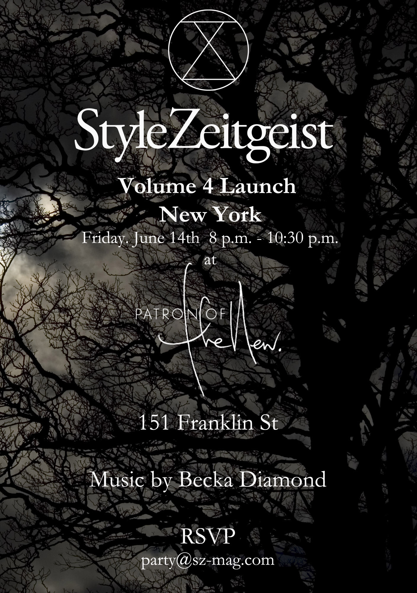 StyleZeitgeist Volume 4 NYC Launch Events  event_s