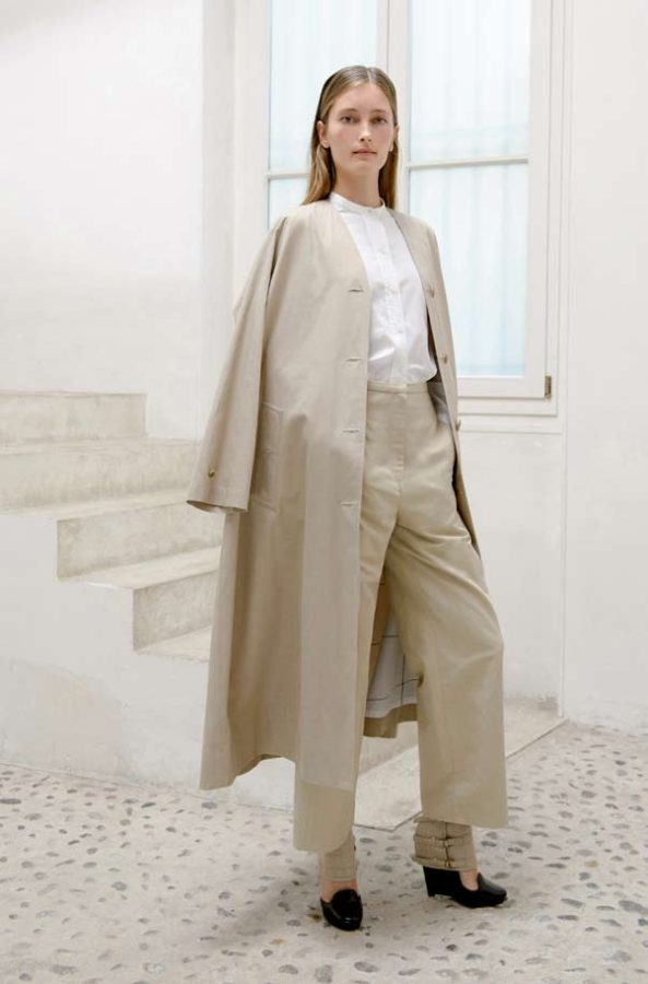 StyleZeitgeist Christophe Lemaire S/S 2014 - Women's Fashion  lookbook_s