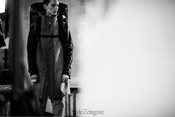 Boris Bidjan Saberi Backstage FW14, Paris - fashion - lookbook_s