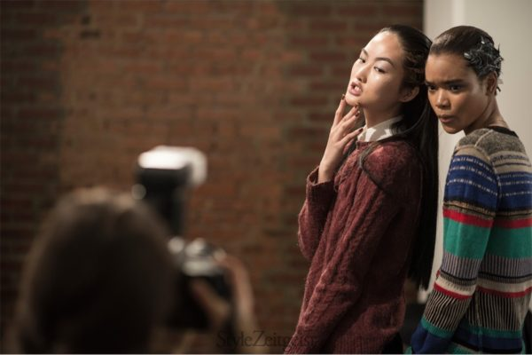 Ohne Titel Backstage FW14, New York - fashion - lookbook_s
