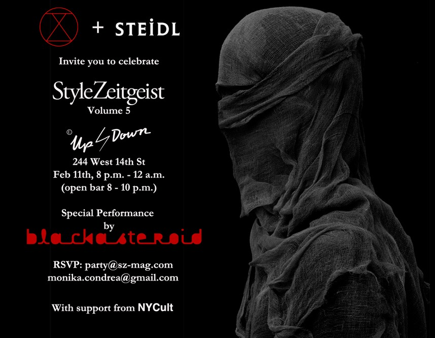 StyleZeitgeist VOLUME 5 NYC LAUNCH WITH STEIDL Events  event_s