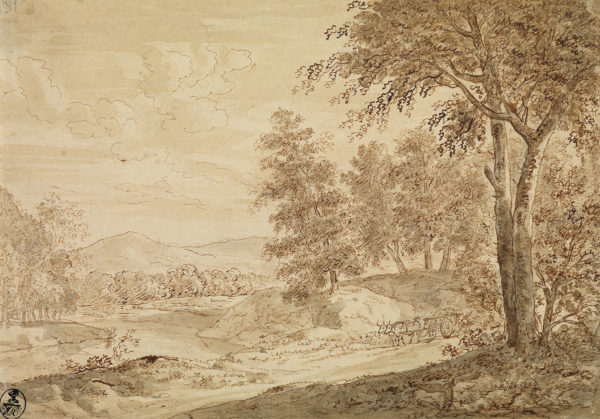 5. Wagner_Wooded landscape