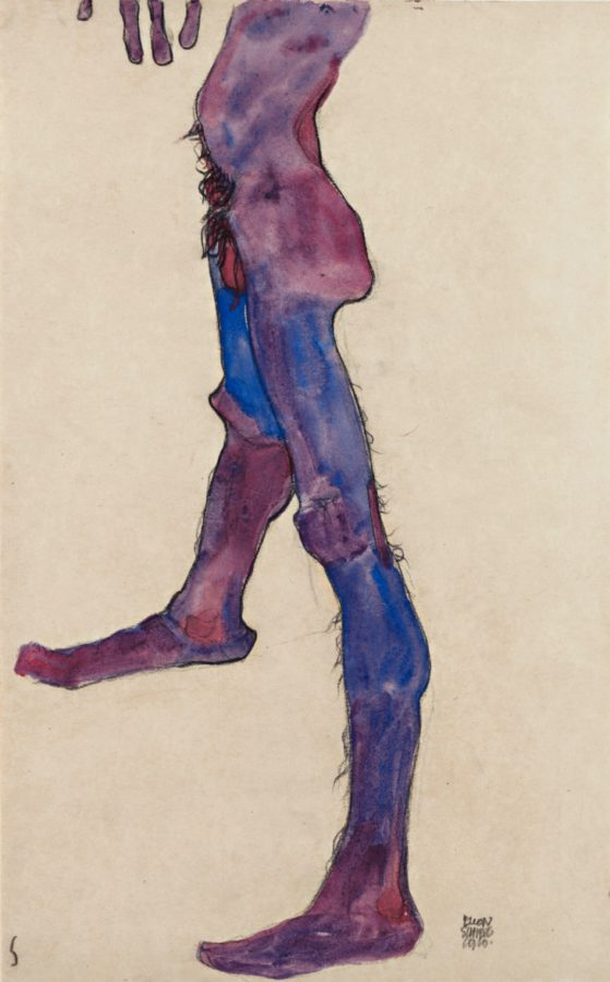 schiele 7-Male_Lower_Torso