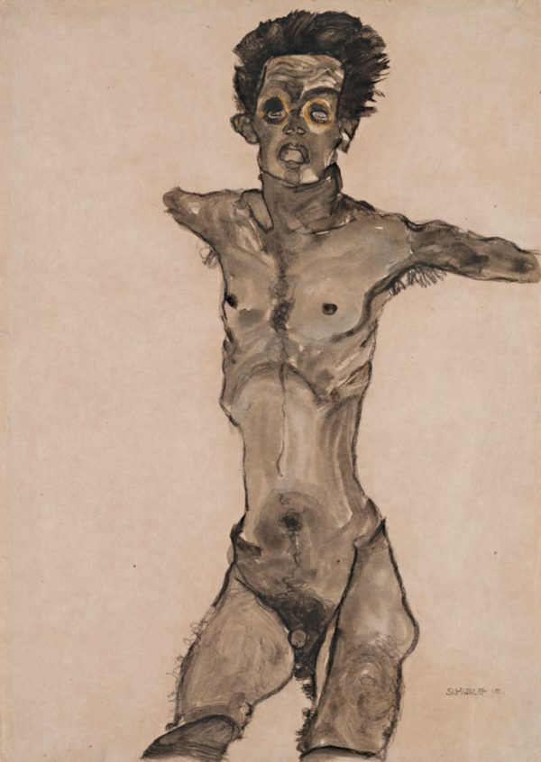 schiele-Nude_self_portrait