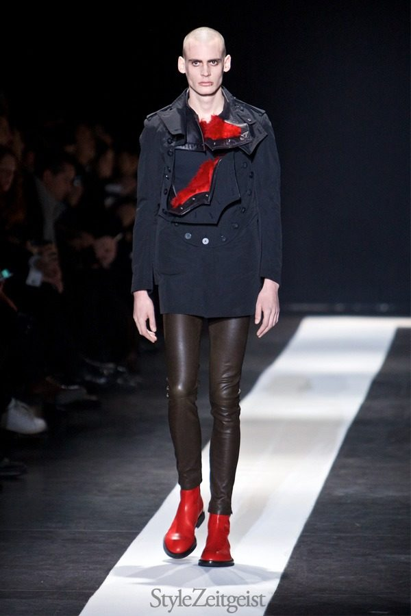 StyleZeitgeist Ann Demeulemeester FW15, Paris Fashion  lookbook_s