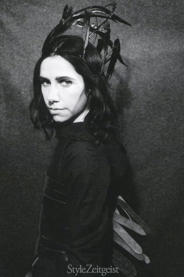 PJ HARVEY | ANN DEMEULEMEESTER | PATRICK ROBYN - features-oped, fashion, culture - Patrick Robyn, P.J. Harvey, Feature, fashion photography, Fashion, Ann Demeulemeester, 2015