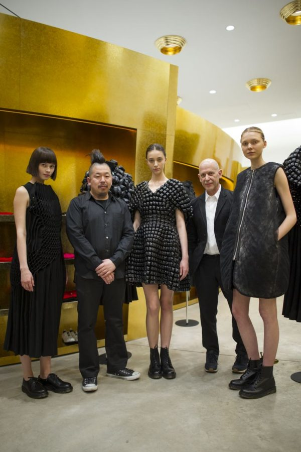 Noir by Kei Ninomiya at Comme des Garcons - retail, fashion - lookbook_s