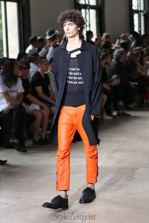 Ann Demeulemeester S/S16, Paris - fashion -