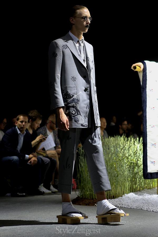 Thom Browne New York S/S16 Men's - fashion - Thom Browne, SS16, Spring Summer, PFW, Paris Fashion Week, Paris, MENSWEAR, Mens Fashion, Fashion, 2015