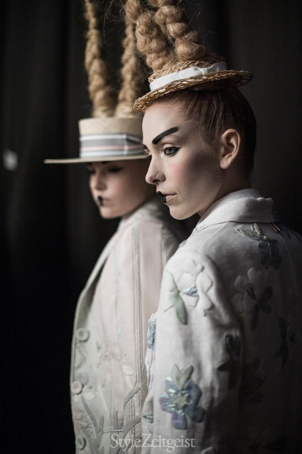 StyleZeitgeist Thom Browne S/S16 - Backstage Fashion    StyleZeitgeist Thom Browne S/S16 - Backstage Fashion