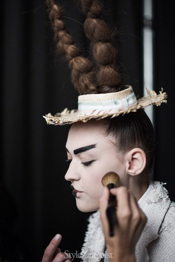 StyleZeitgeist Thom Browne S/S16 - Backstage Fashion    StyleZeitgeist Thom Browne S/S16 - Backstage Fashion    StyleZeitgeist Thom Browne S/S16 - Backstage Fashion