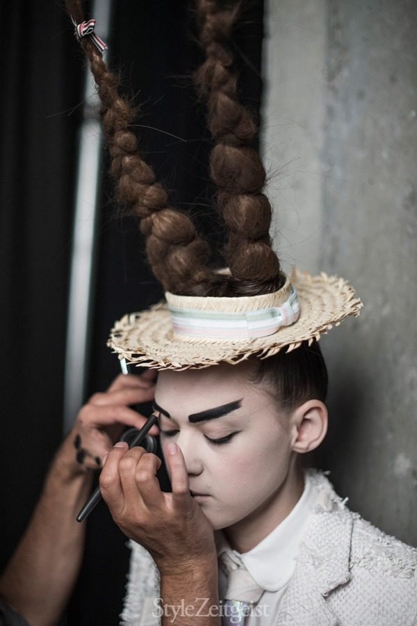 StyleZeitgeist Thom Browne S/S16 - Backstage Fashion    StyleZeitgeist Thom Browne S/S16 - Backstage Fashion    StyleZeitgeist Thom Browne S/S16 - Backstage Fashion    StyleZeitgeist Thom Browne S/S16 - Backstage Fashion