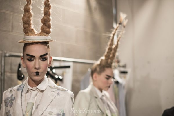 Thom Browne S/S16 - Backstage - fashion -