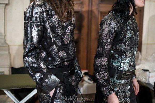 A.F. Vandevorst S/S16 - Paris Backstage - fashion -