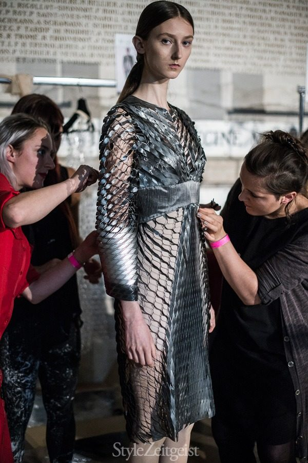 Iris van Herpen S/S16 - Paris Backstage - fashion -