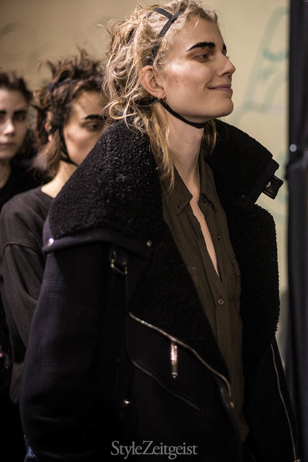 Aganovich F/W16 Backstage - Paris - fashion - Year, Women's Fashion, StyleZeitgeist, Season, PFW, Paris Fashion Week, Paris, Fashion, Fall Winter, Backstage, Aganovich, 2016