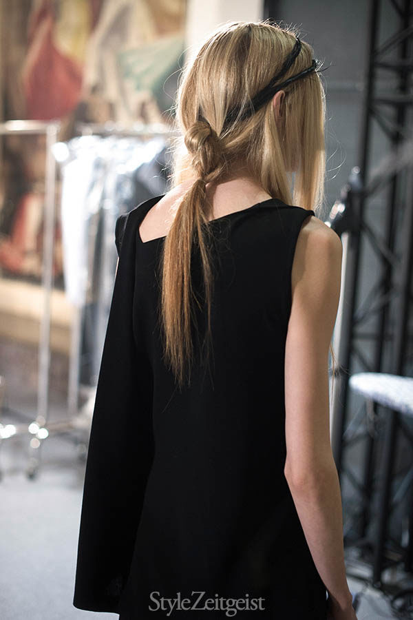 Ann Demeulemeester F/W16 Backstage - Paris - fashion - Year, Women's Fashion, StyleZeitgeist, Season, PFW, Paris Fashion Week, Paris, Fashion, Fall Winter, Demeulemeester, Backstage, Ann Demeulemeester, 2016
