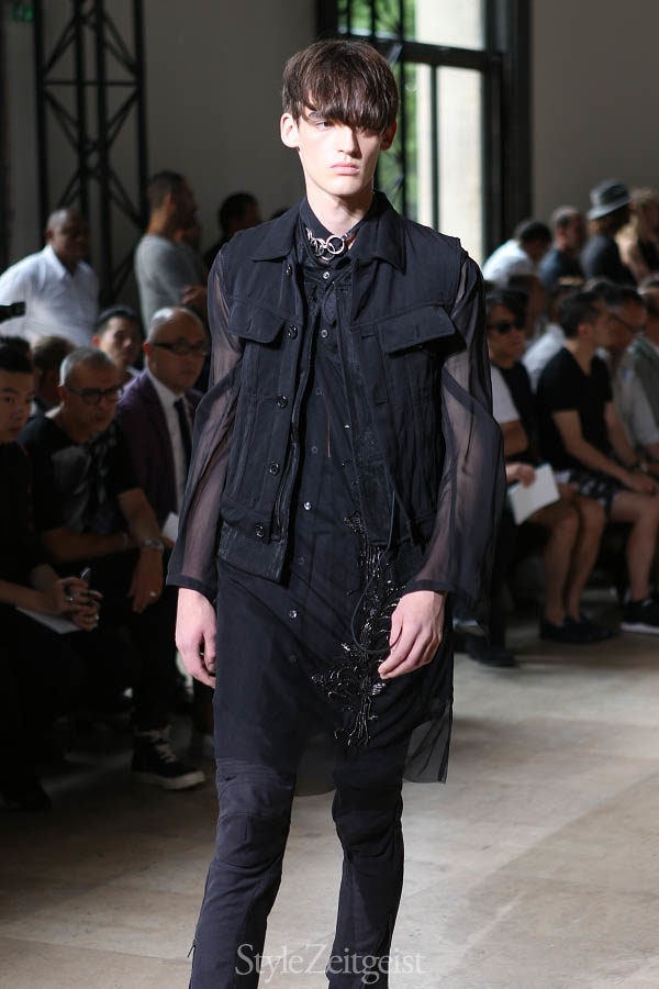 Sebastian Meunier: To Be Myself - fashion - Year Womenswear Women's Fashion StyleZeitgeist Spring Summer Sebastian Meunier Season PFW Paris MENSWEAR Mens Fashion Fashion Fall Winter dries van noten Demeulemeester Ann Demeulemeester 2016 2015