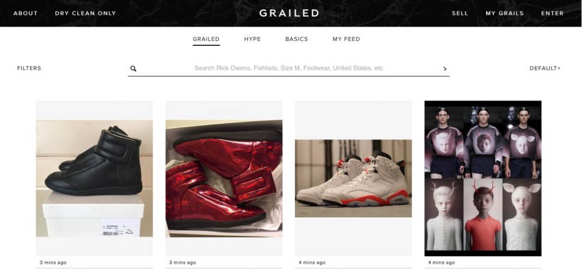 Op-Ed: HOW GRAILED IS KILLING THE MENSWEAR AVANT-GARDE - features-oped, fashion - Retail, op-ed, MENSWEAR, Mens Fashion, Grailed, Feature, Fashion, 2016