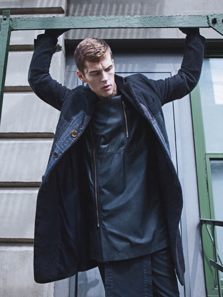 Men's editorial, featuring Ann Demeulemeester, Rick Owens, Boris Bidjan Saberi and more, styled by Eugene Rabkin