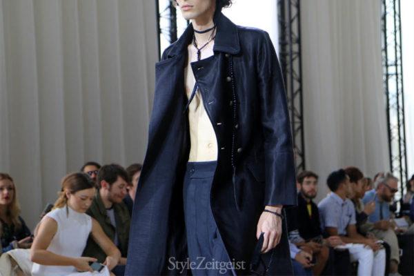 StyleZeitgeist Ann Demeulemeester S/S17 - Paris Fashion  Year StyleZeitgeist Spring Summer Season PFW Paris Fashion Week Paris MENSWEAR Mens Fashion Fashion Demeulemeester Ann Demeulemeester 2017