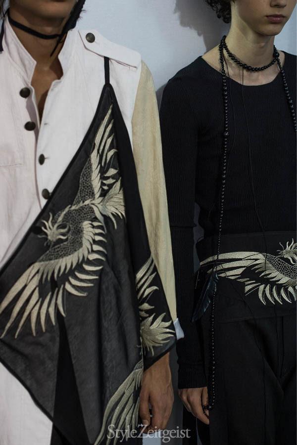 Ann Demeulemeester S/S17 - Backstage - fashion - StyleZeitgeist, Spring Summer, PFW, Paris Fashion Week, Julien Boudet, Fashion, Demeulemeester, Back Stage, Ann Demeulemeester, 2017