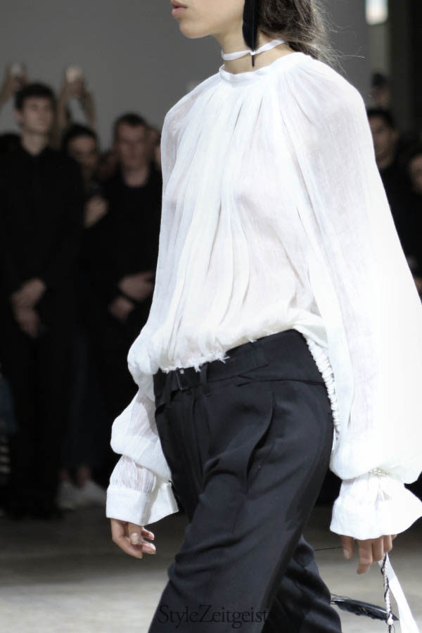 Ann Demeulemeester S/S17 - Paris - fashion - Year StyleZeitgeist Spring Summer Sebastian Meunier Season PFW Paris Fashion Week Paris Fashion Demeulemeester Ann Demeulemeester 2017