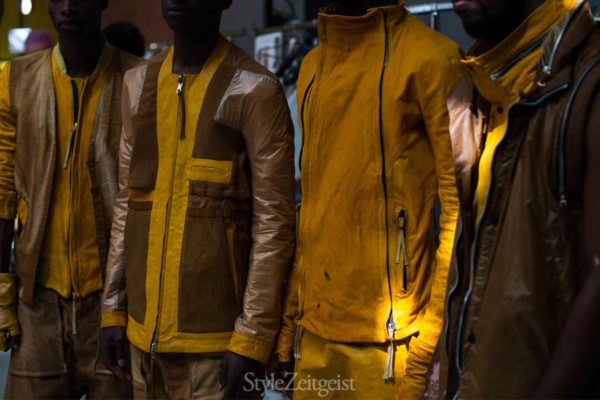 Boris Bidjan Saberi S/S17 - Backstage - fashion - StyleZeitgeist, Spring Summer, PFW, Paris, MENSWEAR, Mens Fashion, Fashion, Boris Bidjan Saberi, BBS, Backstage, 2017