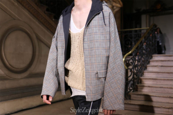 Maison Margiela S/S17 - Paris - fashion - Year StyleZeitgeist Spring Summer Simons Season Raf Simons Pitti Uomo PFW Paris Fashion Week Paris MENSWEAR Mens Fashion Margiela Maison Martin Margiela Maison Margiela Fashion 2017