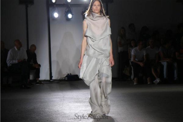 StyleZeitgeist Rick Owens S/S17 - Paris Fashion  Year StyleZeitgeist Spring Summer Season Rick Owens PFW Paris Fashion Week Paris Owens MENSWEAR Mens Fashion Fashion 2017