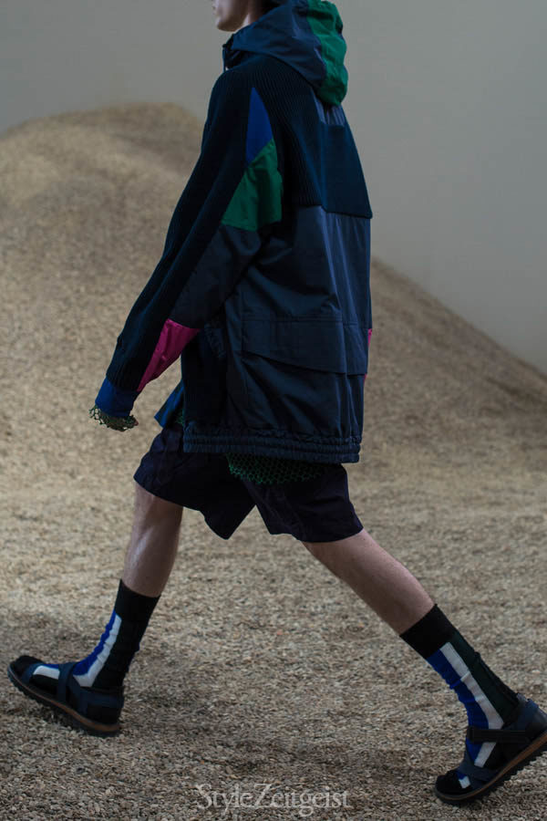 Sacai S/S17 - Paris - fashion - Year StyleZeitgeist Spring Summer Season Sacai PFW Paris Fashion Week Paris Owens MENSWEAR Mens Fashion Fashion Chitose Abe 2017