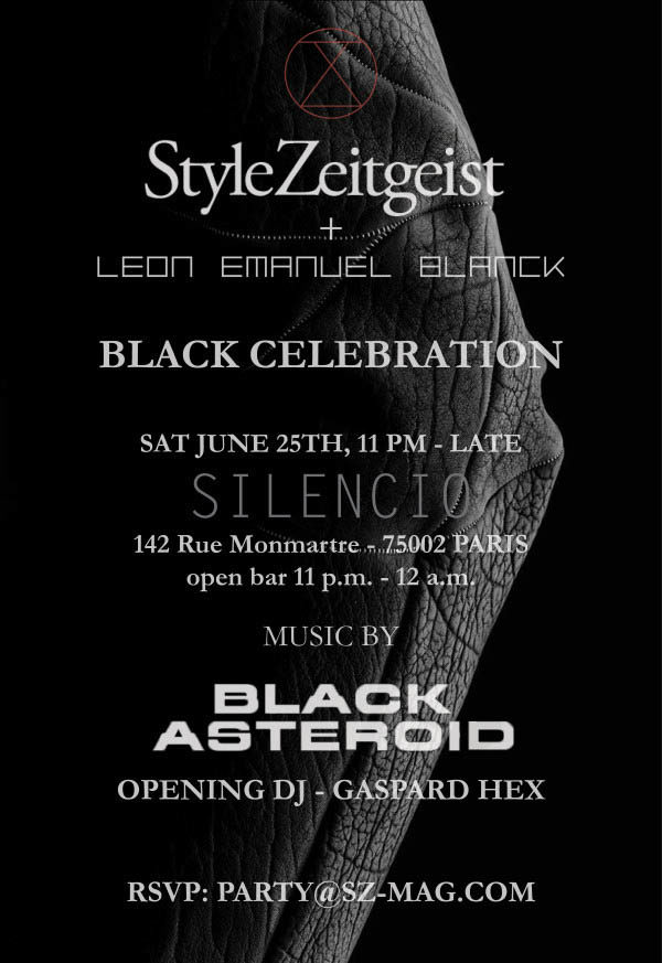 StyleZeitgeist Black Celebration With Leon Emanuel Blanck Culture