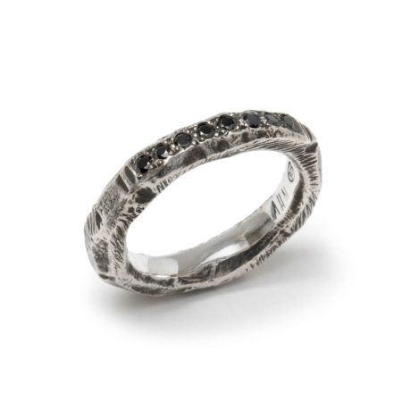 Alicia Hannah Naomi Gneiss Pave Ring - womens-jewelry, rings, jewelery -