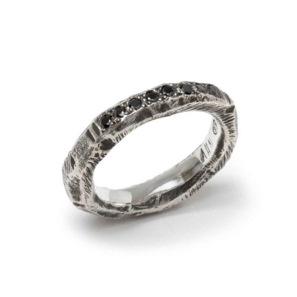 StyleZeitgeist Alicia Hannah Naomi Gneiss Pave Ring