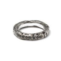 Alicia Hannah Naomi Gneiss Pave Ring - womens-jewelry, rings, jewelery -