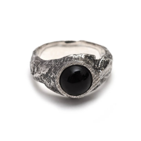The Alicia Hannah Naomi Molt Ring. Each piece is made in Melbourne from sterling silver.Each piece is created using the lost-wax casting technique; hand carved in wax, then cast in metal and finished by hand.
