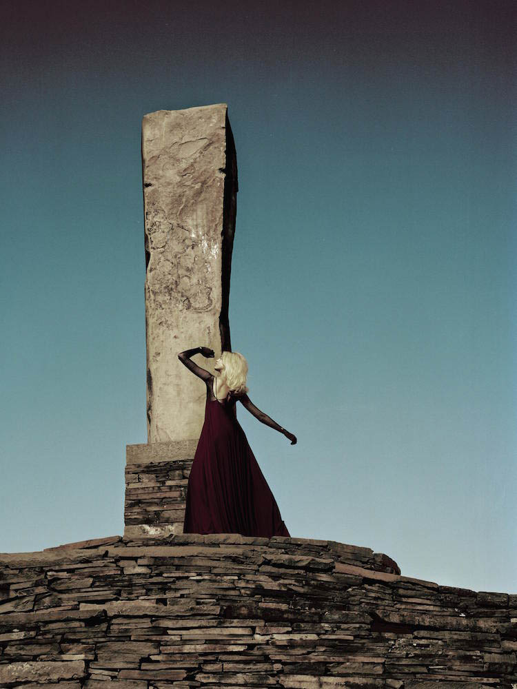 In this women's editorial, photographer Jennifer Tzar travels to OPUS 40 with two models and a heap of clothes from the likes of Rick Owens, Ann Demeulemeester, A.F. Vandevorst, and Zero + Maria Cornejo.