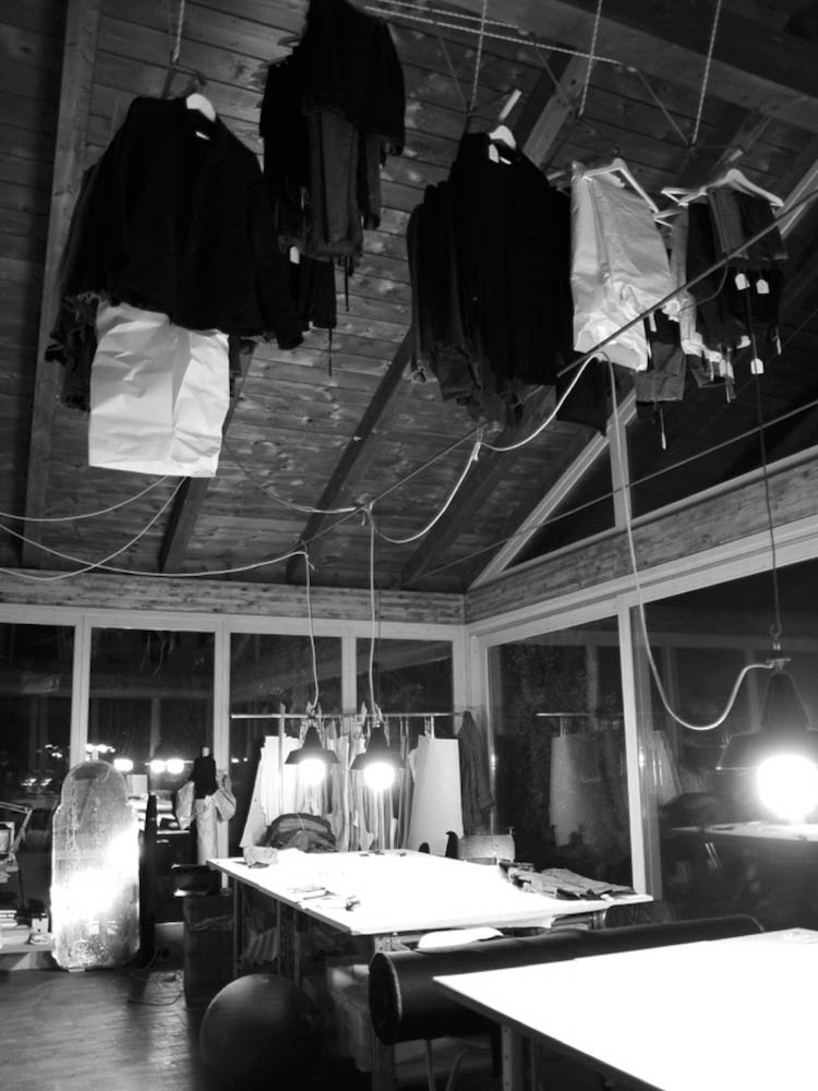 We continue our Work in Process series by following the development of the F/W 2013 collection at m.a.+ by Maurizio Amadei