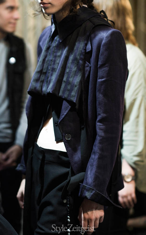 Ann Demeulemeester S/S17 Women's - Paris Backstage - fashion - Women's Fashion, StyleZeitgeist, SS17, PFW, Julien Boudet, Fashion Show, Fashion, Backstage, Ann Demeulemeester