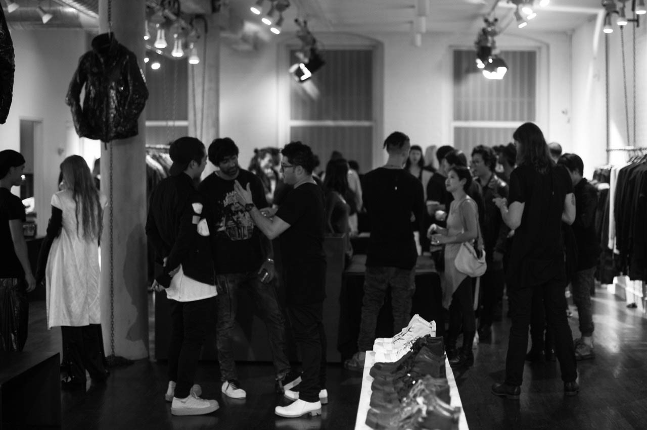 BORIS BIDJAN SABERI FRAGRANCE RELEASE - fashion events - StyleZeitgeist Perfume Fashion Event Boris Bidjan Saberi BBS