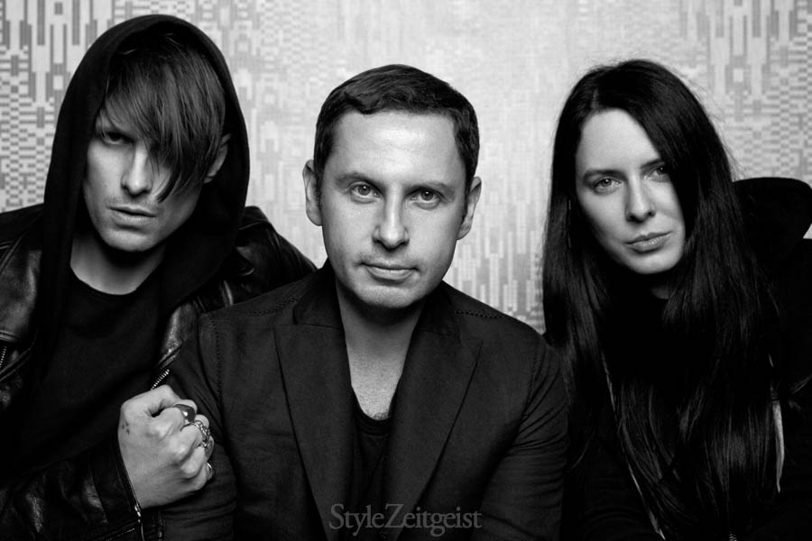 StyleZeitgeist 10th Anniversary Party Portraits - events culture - StyleZeitgeist Joseph Quartana Events Eugene Rabkin Dusan Reljin Culture Cold Cave Black Asteroid