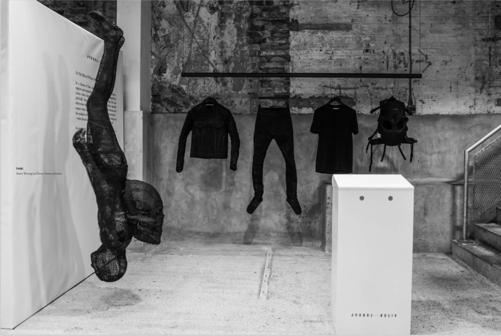 Aitor Throup - Make It New - StyleZeitgeist, Feature, Fashion, Eugene Rabkin, Aitor Throup, 2016