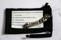 Werkstatt:Munchen x StyleZeitgeist Silver Bracelet