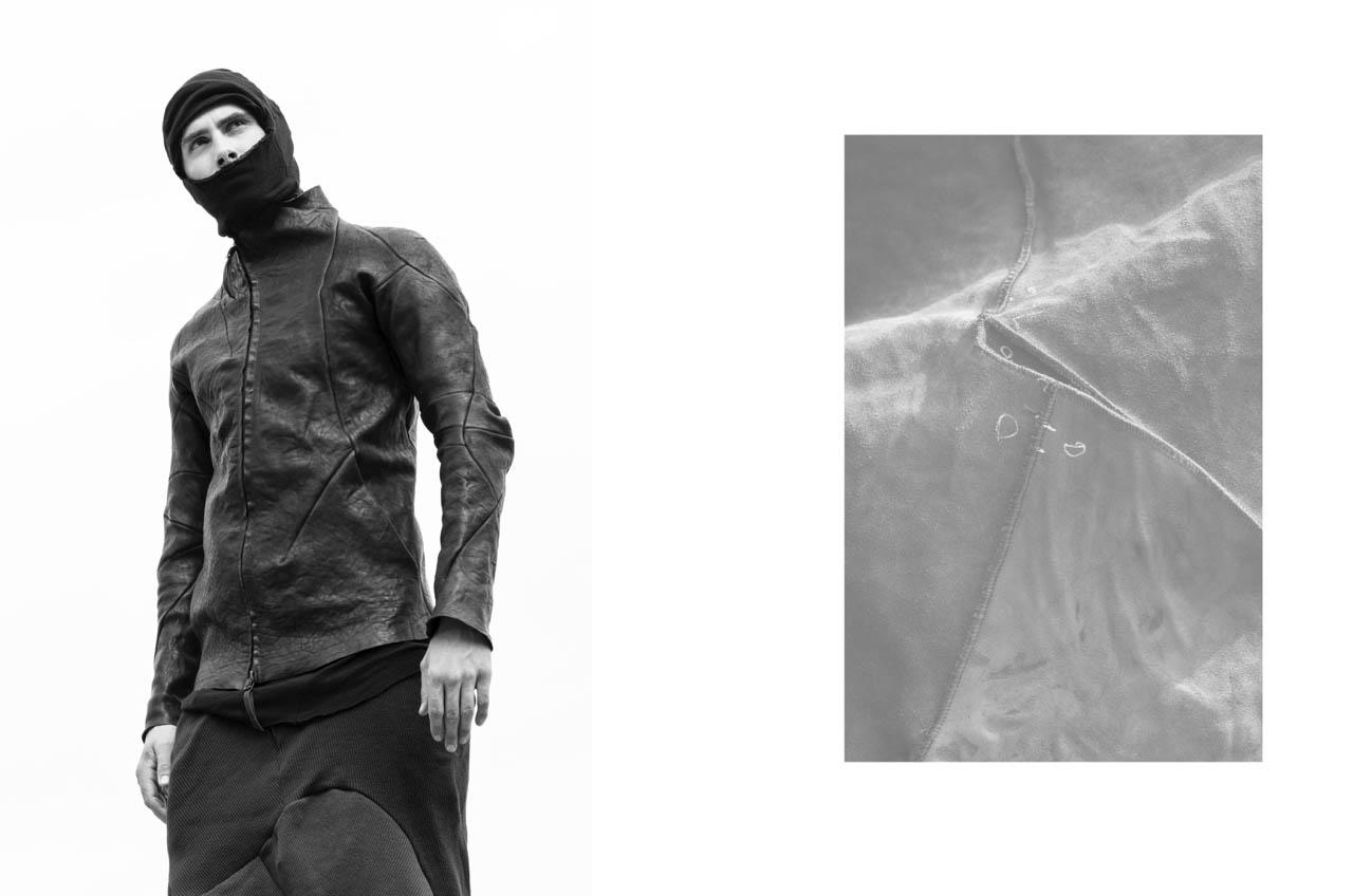 Leon Emanuel Blanck F/W16 Men's - Leon Emanuel Blanck, LEB, leather jacket, leather