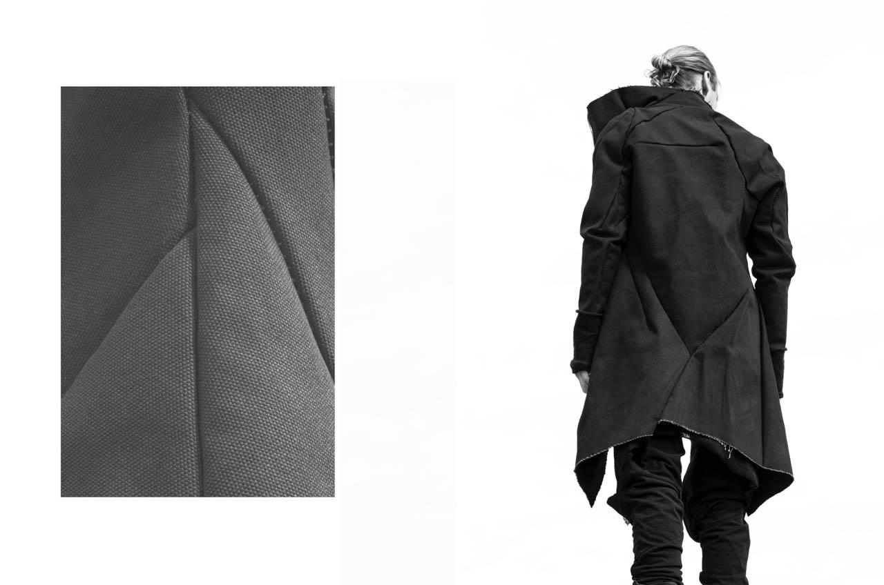 Leon Emanuel Blanck F/W16 Men's - fashion - Leon Emanuel Blanck LEB leather jacket leather
