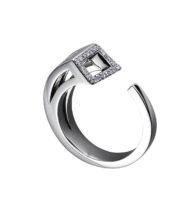 Moratorium Sabre Half Pavé Ring - womens-jewelry, rings, jewelery -