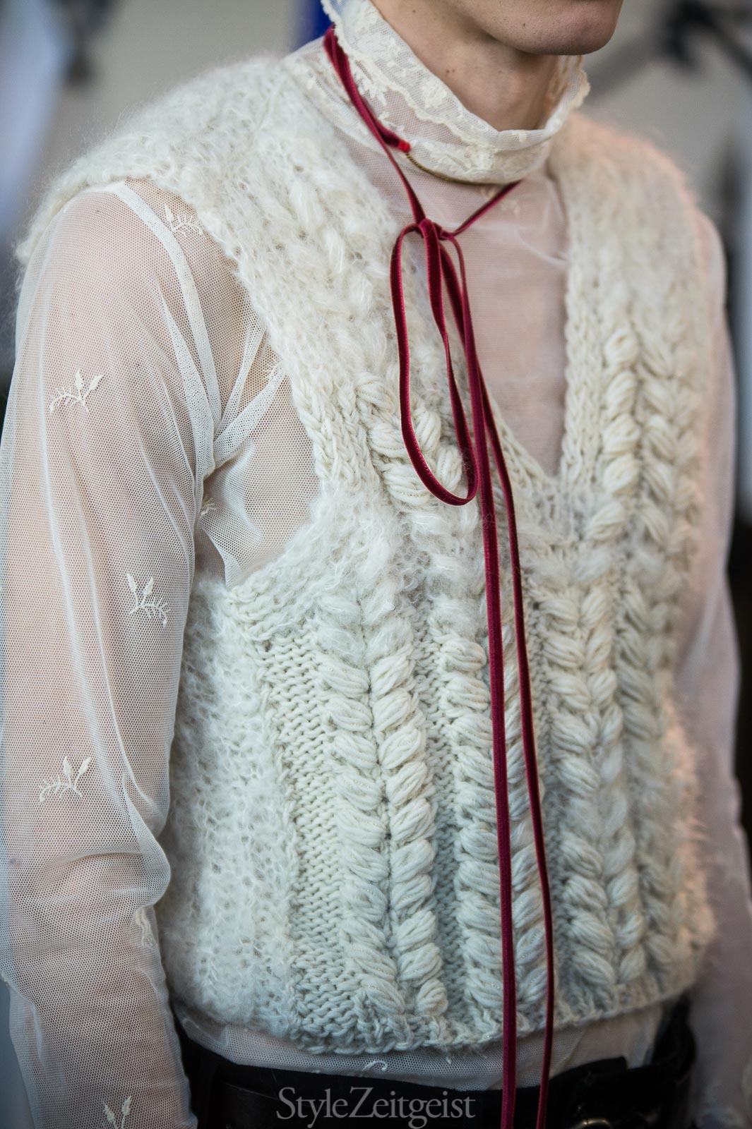 Ann Demeulemeester F/W17 Men's - Paris Backstage - StyleZeitgeist, Patrick LaDuke, Paris, MENSWEAR, FW17, Fashion, Fall Winter, Backstage, Ann Demeulemeester, 2017